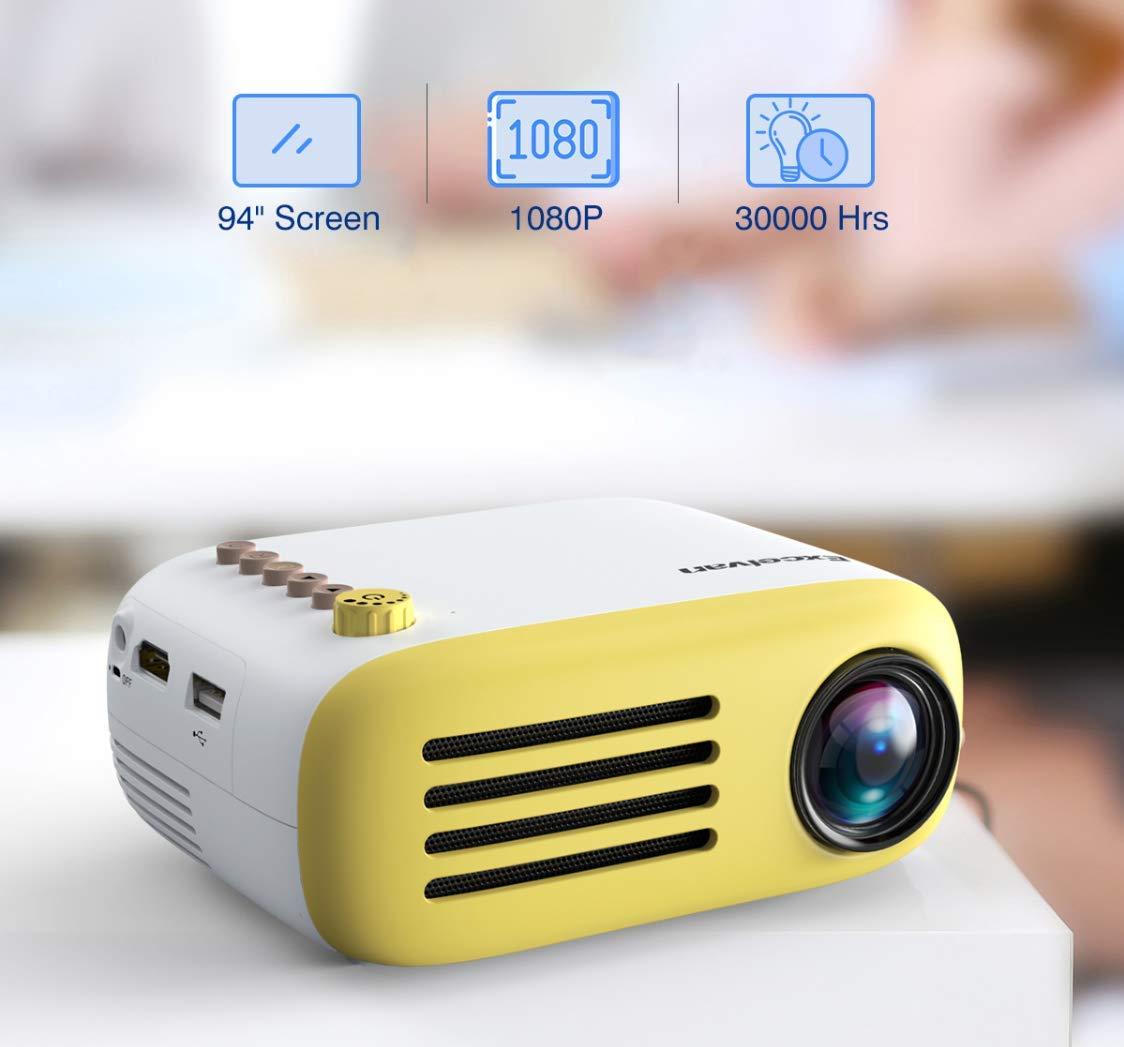 Mini Proyector Portátil De Bolsillo Led AV USB SD Hdmi Video Juego ...