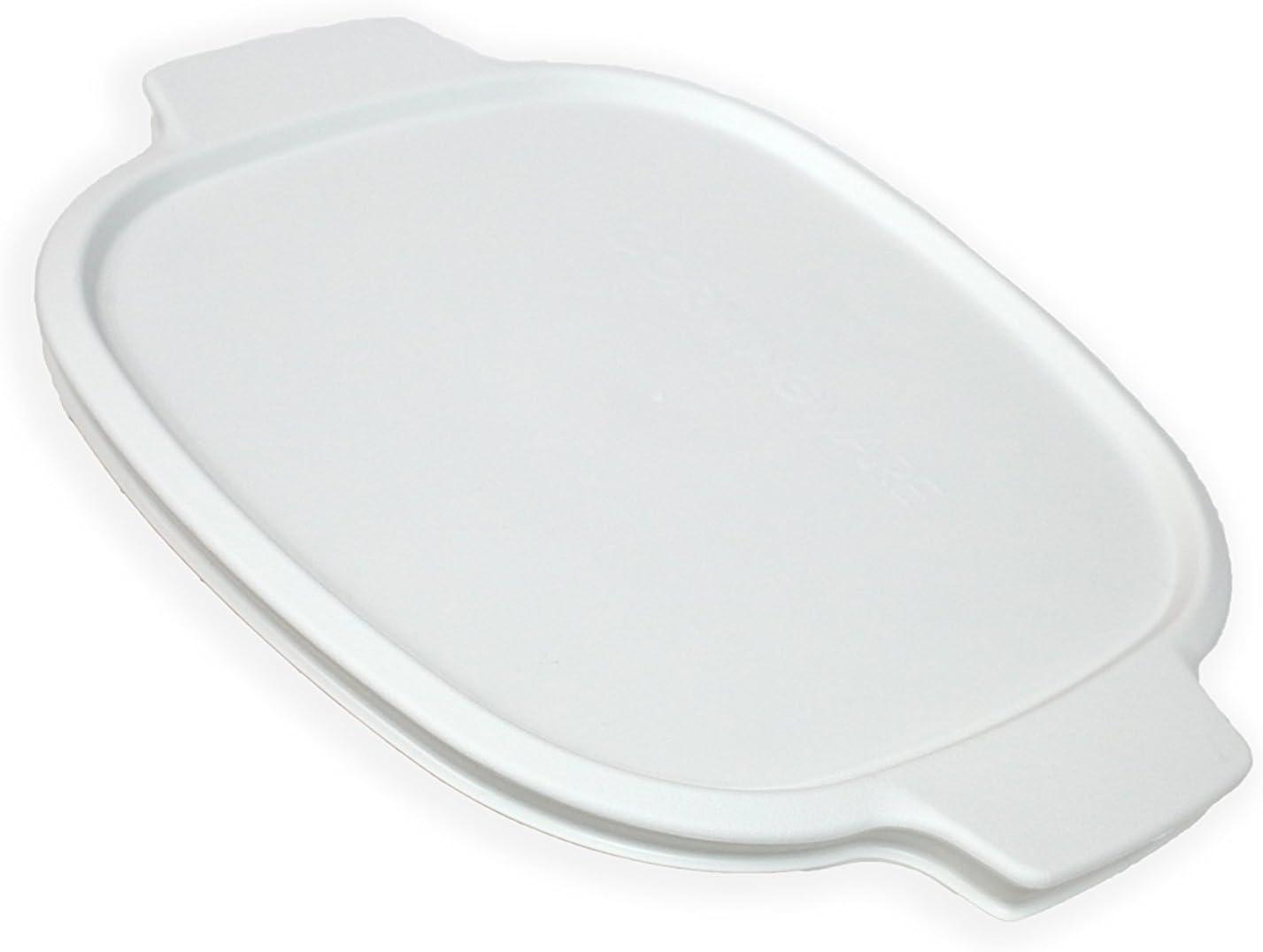 CORNINGWARE StoveTop 2-qt / 3-qt White Plastic Cover (fits Corningware A-2)