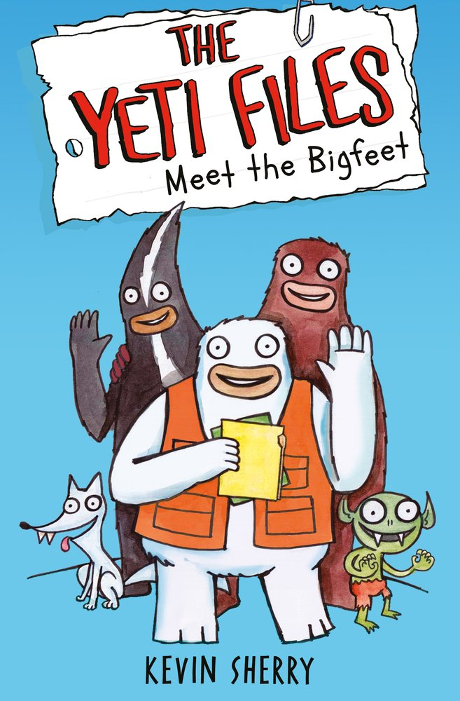 Meet Bigfeet Files Kevin Sherry