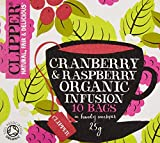 Clipper Organic C/Berry/ Raspberry Infusion 10S 25G by Clipper