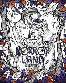 Amazon.com: Adult Coloring Book Horror Land: Entrapment (Book 4 ...