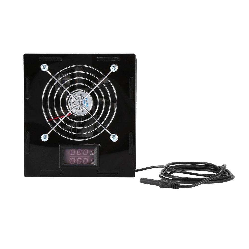Aquarium Thermometer, Temperature Control for Aquarium Fish Tank Vivarium Reptile Terrarium