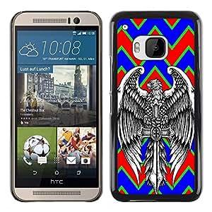 Dragon Case - FOR HTC One M9 - Love never dies - Caja protectora de pl??stico duro de la cubierta Dise?¡Ào Slim Fit