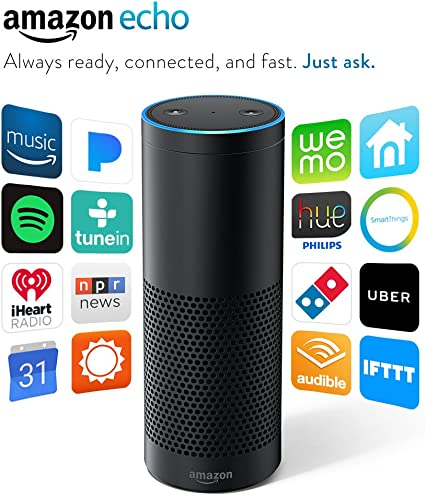 Certified Refurbished Amazon Echo: Always Ready, Connected ...