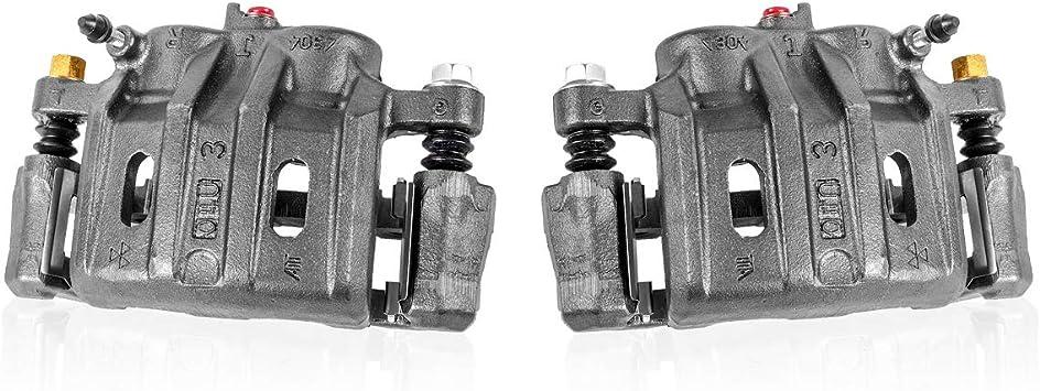 Clips Callahan CCK06823 fit BMW 335d 335i 335is 335Xi E92 E93 X1 Z4 2 FRONT OE Remanufactured Brake Calipers Pair