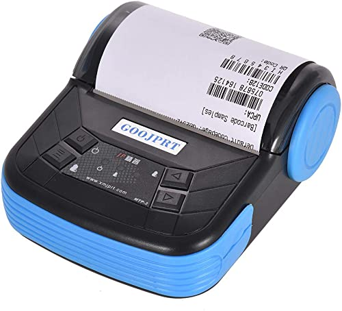 Aibecy GOOJPRT MTP-3 80mm BT Thermal Printer Portable Lightweight for Supermarket Ticket Receipt Pri…