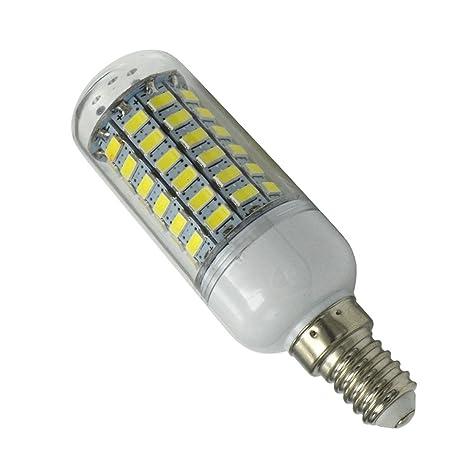 Phigoning 3 X Bombilla LED E14 10 W lámpara maíz 69 SMD 5730 LEDs Bombillas de