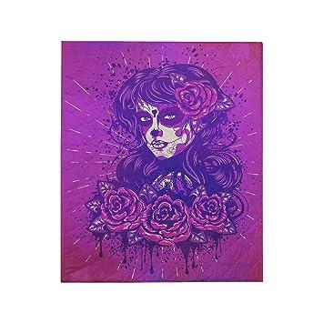 Amazon.com: InterestPrint Sugar Skull Dia De Los Muertos ...
