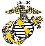 1 Pc Professional Popular Marines Semper Sticker Signs Doors Bumper Home Size 6