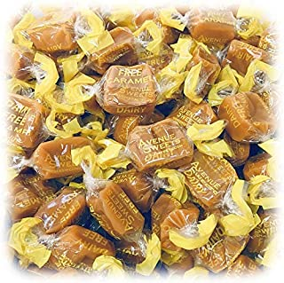 product image for AvenueSweets - Handcrafted Organic Dairy Free Vegan Individually Wrapped Soft Caramels - 1 lb Box - Vanilla