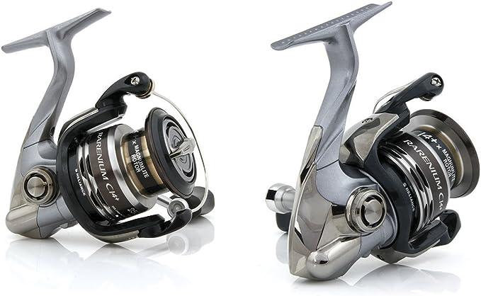 SHIMANO RARENIUM ci4 + FB 4000 carrete frontal de Pesca SPINNING ...