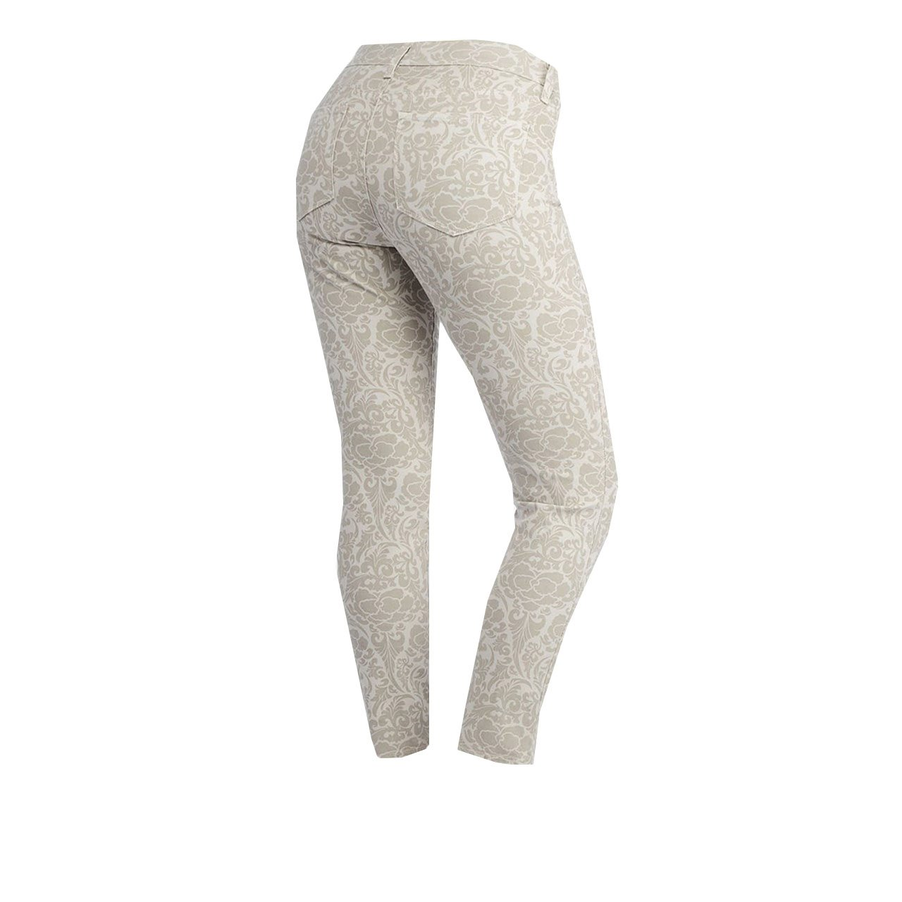 NYDJ Not Your Daughters Jeans Petite Alisha Bone Primrose Ankle Pants Size 6P