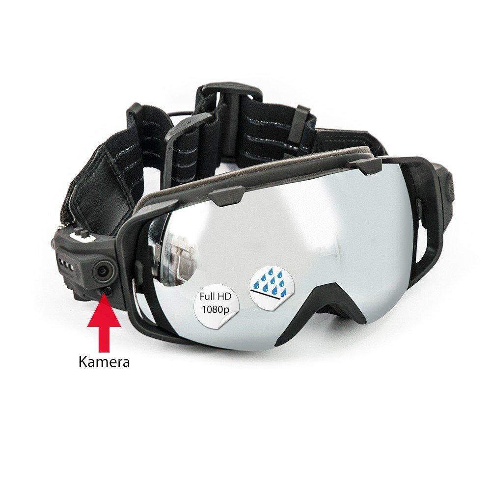 DROHNENSTORE24.DE ...DER DROHNEN-GURU DS24 Ski Videobrille 75G 5MP 1080P Full HD Weitwinkelobjektiv Schwarz