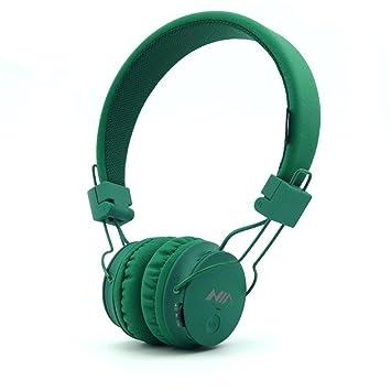 GranVela® A816 plegable Auricular nuevo reproductor de música de moda 16 colores auricular de los