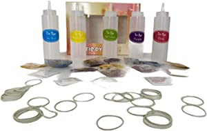 Tie Dye Fun - X Large Tie Dye Kit for Kids - Set of 5 Colors