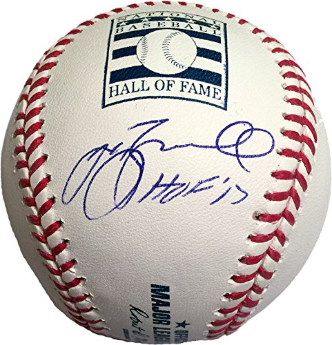 Jeff Bagwell Signed Autographed Hall of Fame ML Baseball Inscribed HOF 17 TRISTAR COA