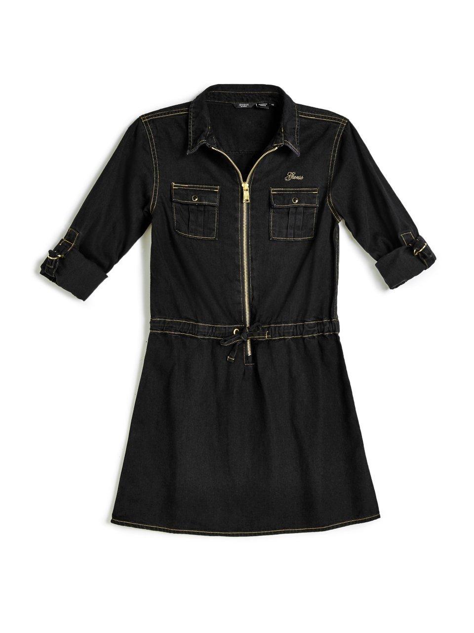 GUESS Denim Zip Dress (7-16)