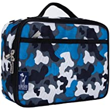 Wildkin Camo Lunch Box, Blue
