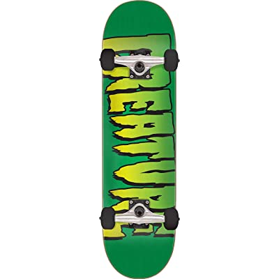 "Creature Skateboards Logo Green Complete Skateboard - 8"" x 31.6"" : Sports & Outdoors"