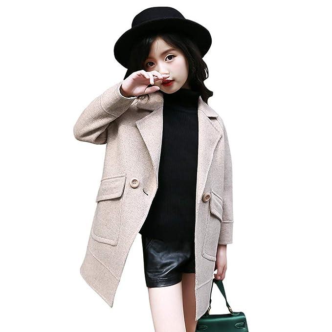 shop for good out x buy sale MV Winter Korean Children's Tide Suit Wool Coat Plus Velvet ...