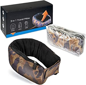 Sweepstakes: Real Multifunctional Support Travel Neck Pillow – 3in1 U…