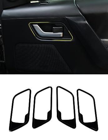 Carbon ABS schwarz innen Dekoration inneren Tür Griff Zubehör Rahmen ...