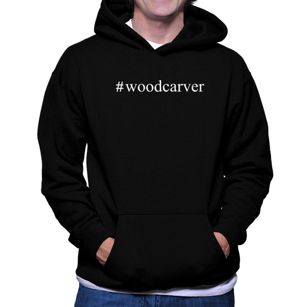 Teeburon Woodcarver Hashtag Hoodie