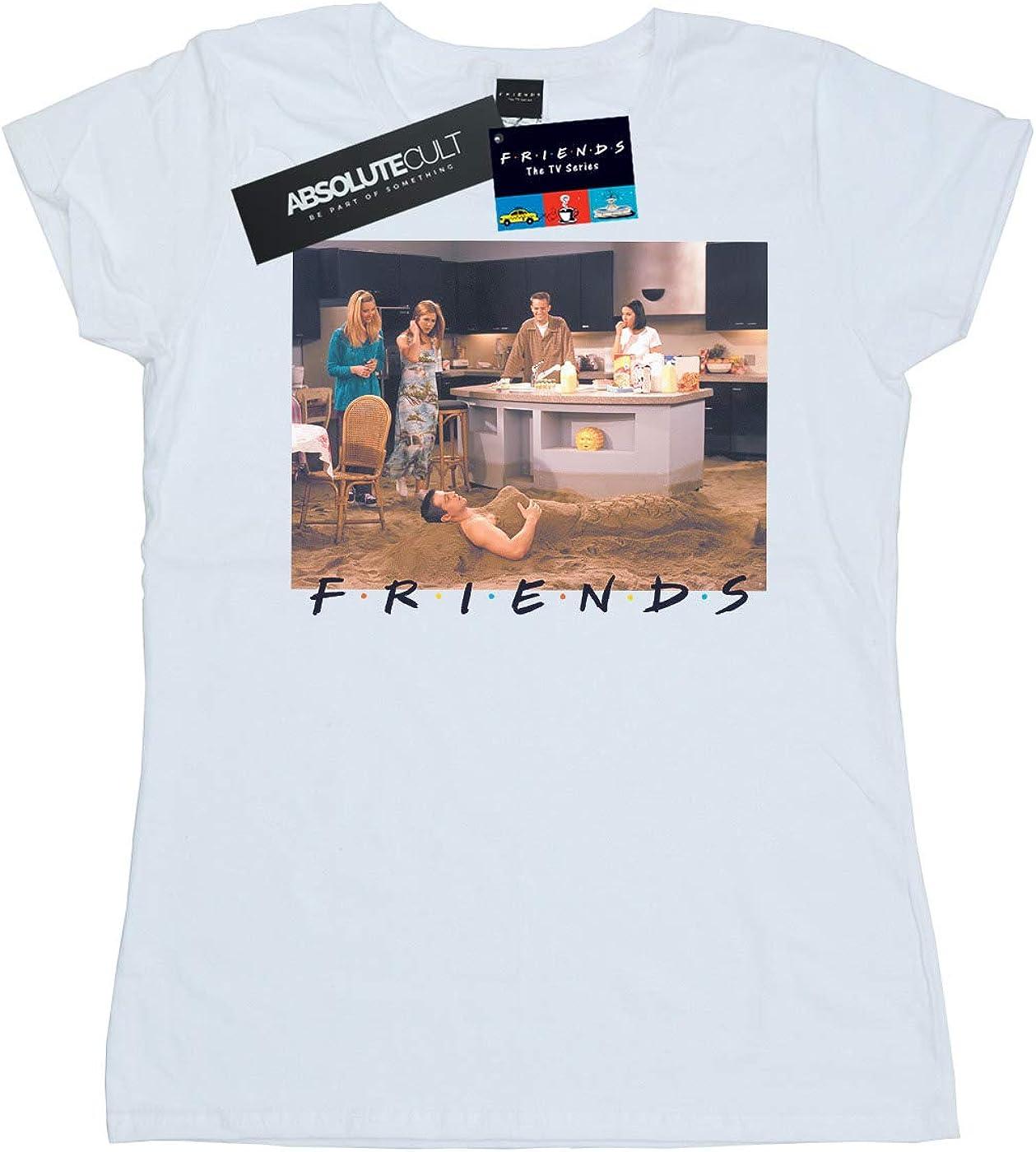 Absolute Cult Friends Mujer Joey Mermaid Camiseta: Amazon.es: Ropa y accesorios