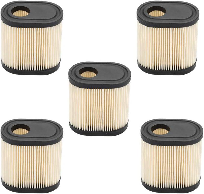 Milttor 5 Packs 36905 Air Filter for Tecumseh 740083A Air Cleaner Tecumseh LEV100 LEV115 LEV120 OVRM105 OVRM65 TVS115 TVS120 Toro Craftsman Lawn Mower