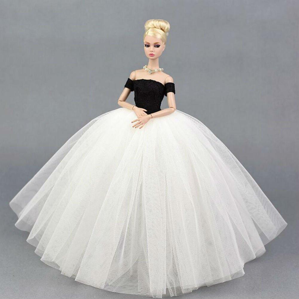 Stillshine CC-05A Preciosa Hecho a Mano Vestido de Novia el 11,5  para Barbie Doll//Vestido de mu/ñeca//Accesorios de Las mu/ñecas 1