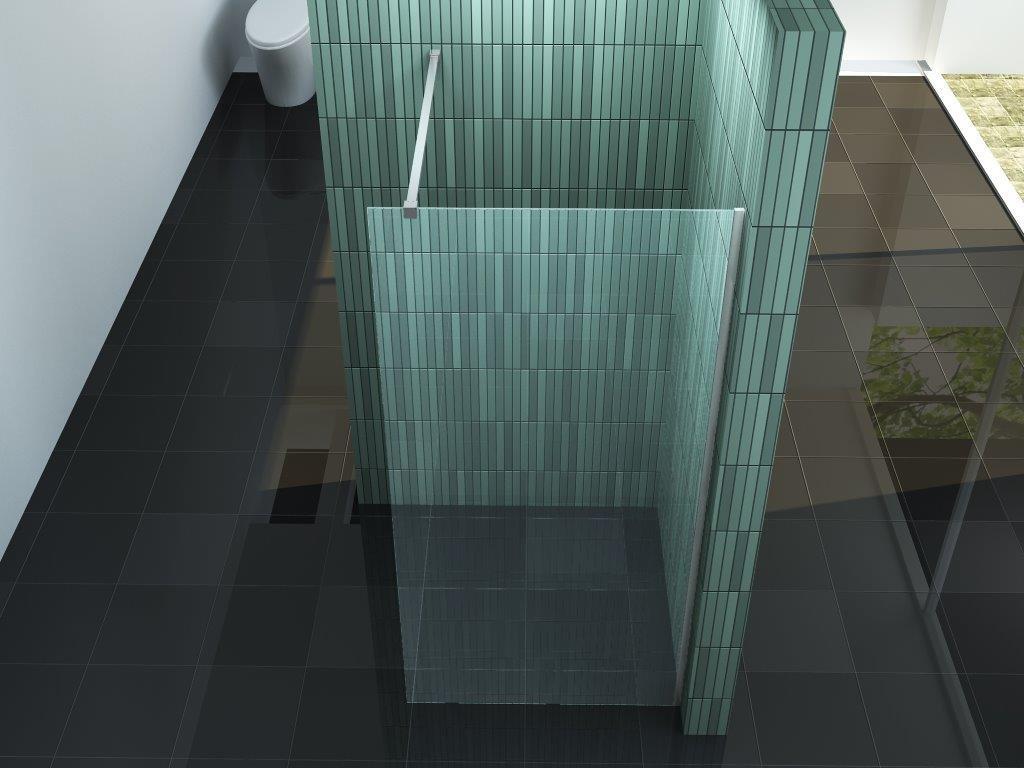 8 mm Duschwand Duschwand Duschwand SC 80 x 200 cm bc24f1