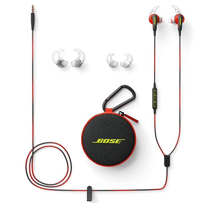 BOSE soundsport 防汗防水 入耳式运动耳机 苹果版 3折$39 两色可选 海淘转运到手约¥292