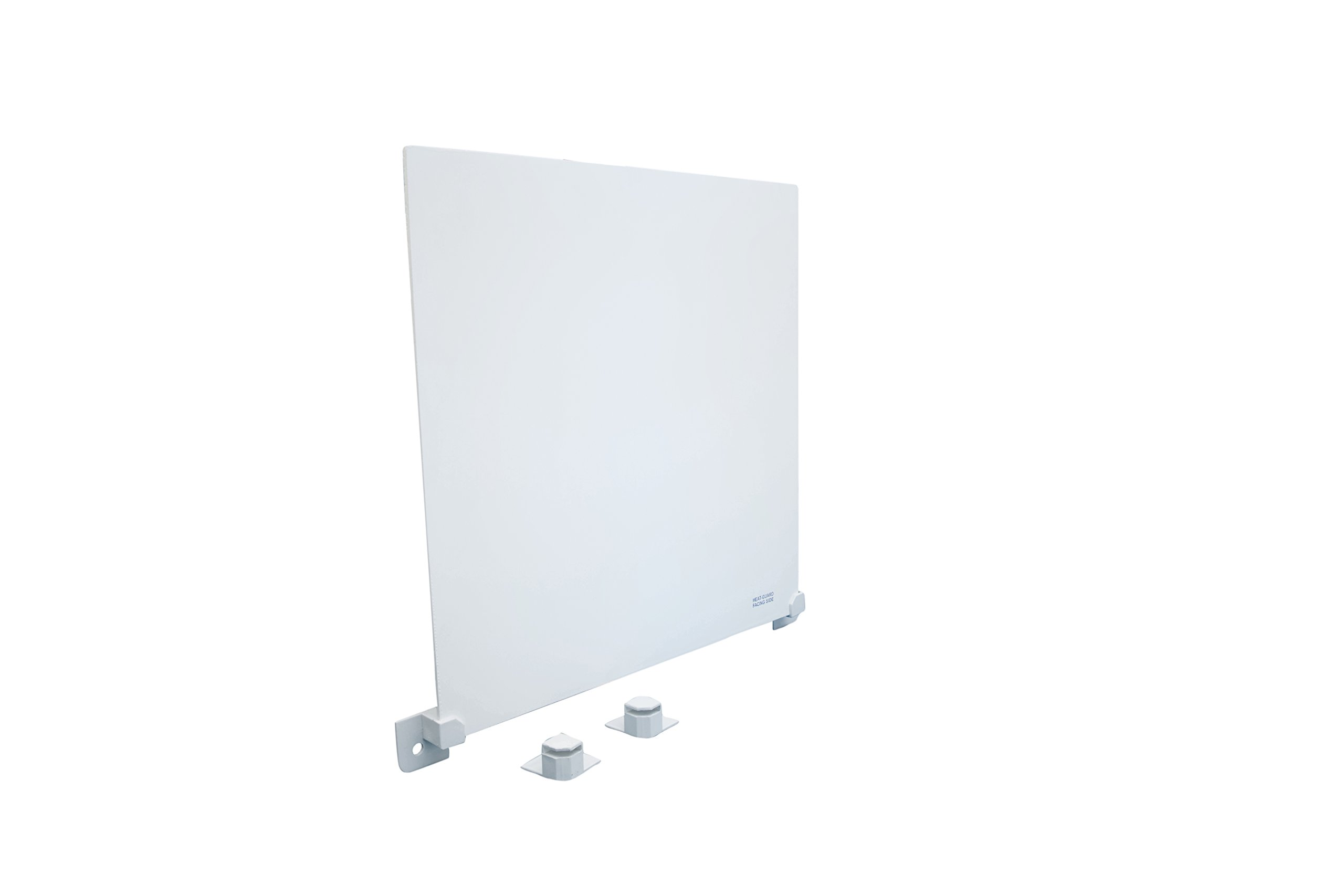 Heat Guard for Wall Mount Space Convector Heater Panel | Safest Version - Reduces Exterior Casing Temperature | Doubles the Efficiency of Heat Distribution | By EconoHome