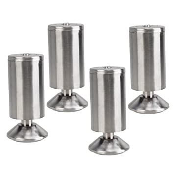 BQLZR Stainless Steel Chrome Furniture Legs for Sofa Chair Cabinet ...
