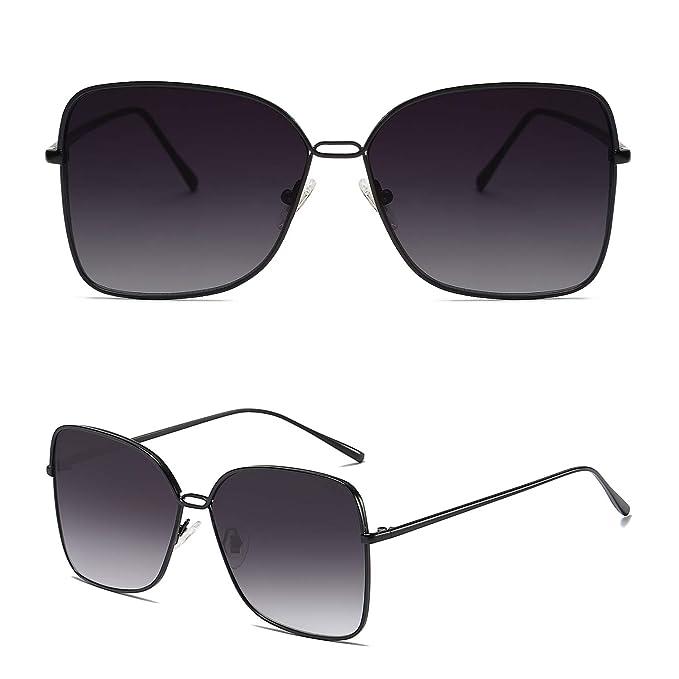Amazon.com: SOJOS SJ1082 - Gafas de sol cuadradas para mujer ...