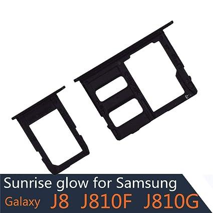 Amazon.com: J810F - Bandeja para tarjeta SIM y ranura para ...