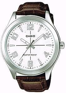 كاسيو ساعة للرجال - جلد - MTP-VX01L-7BUDF