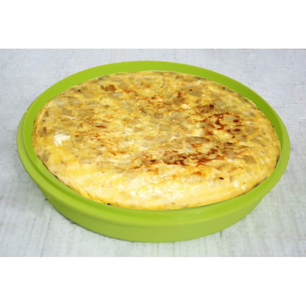 Portatortillas Circular de 20cm para ensaladas/Tortillas. Diseño ...