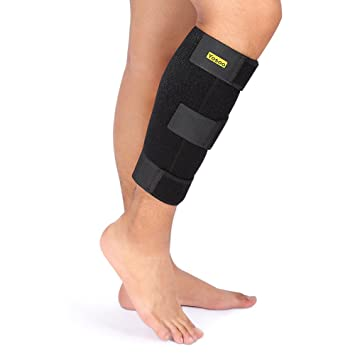 15a65b7784 Calf Support,Yosoo Shin Splint Support Breathable Neoprene Calf Compression  Sleeves for Relieving Calf Muscle