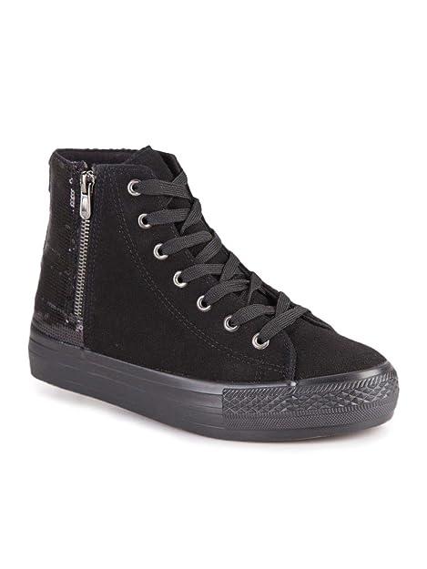 EcopelleAmazon Donna Borse itScarpe Paillettes Zip E Sneakers Con Onmw0vN8