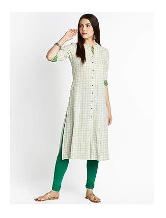 bf6eeb10bd0c6 Amazon.com: Hiral Designer Indian Pakistani Kurti For Women Off ...