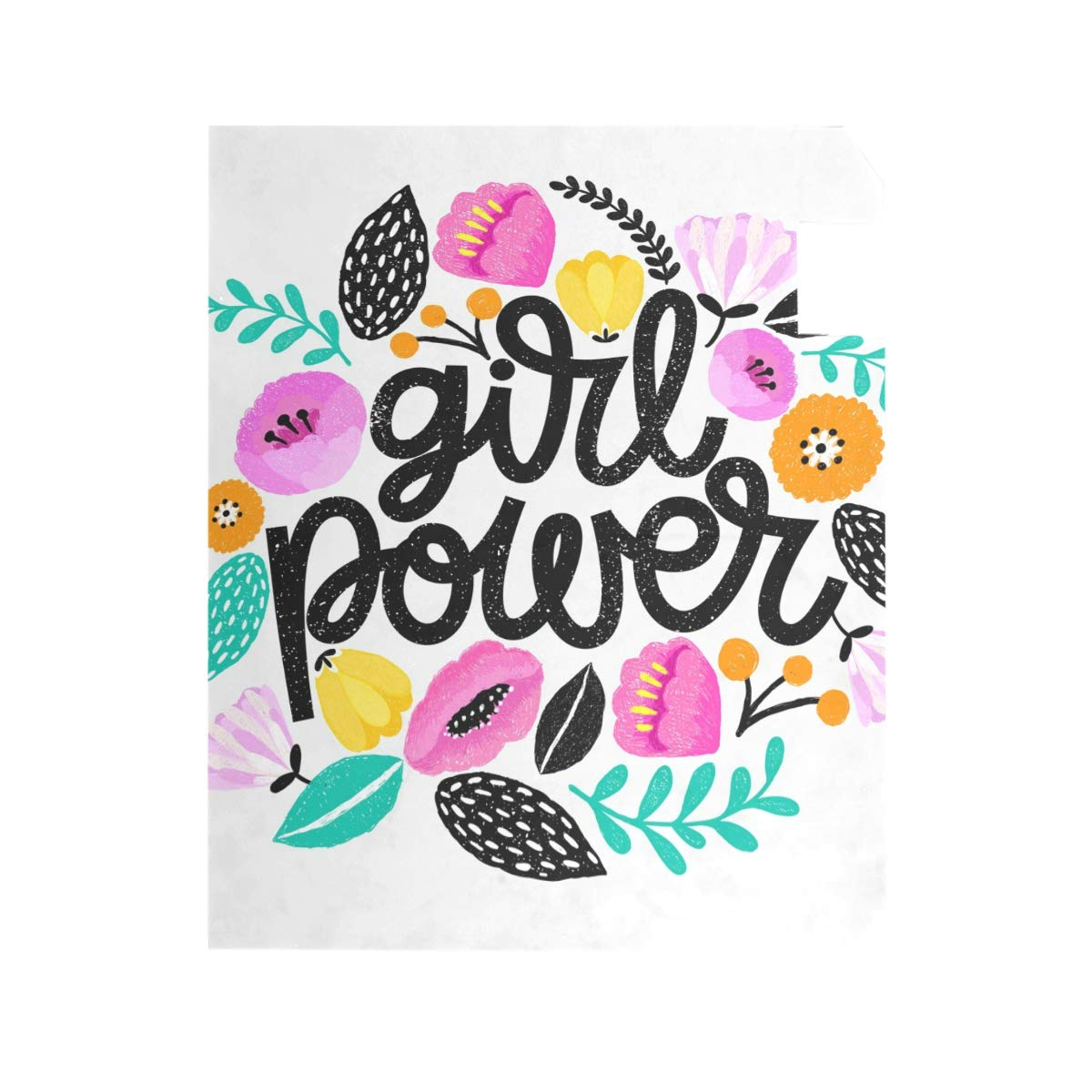 TaTaisu Mailbox Covers and Wraps Girl Power Custom Magnetic Mail Box Cover Vinyl Home Garden Decor Standard Size