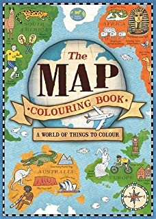 the map colouring book map colouring books 1 - Geography Coloring Book