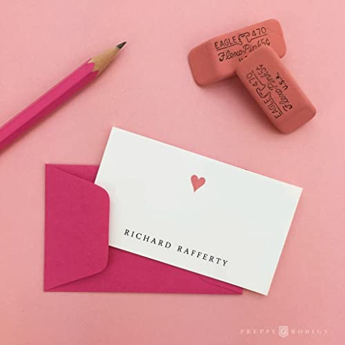heart enclosure cards personalized birthday gift enclosure set kids business cards stationery - Kids Business Cards