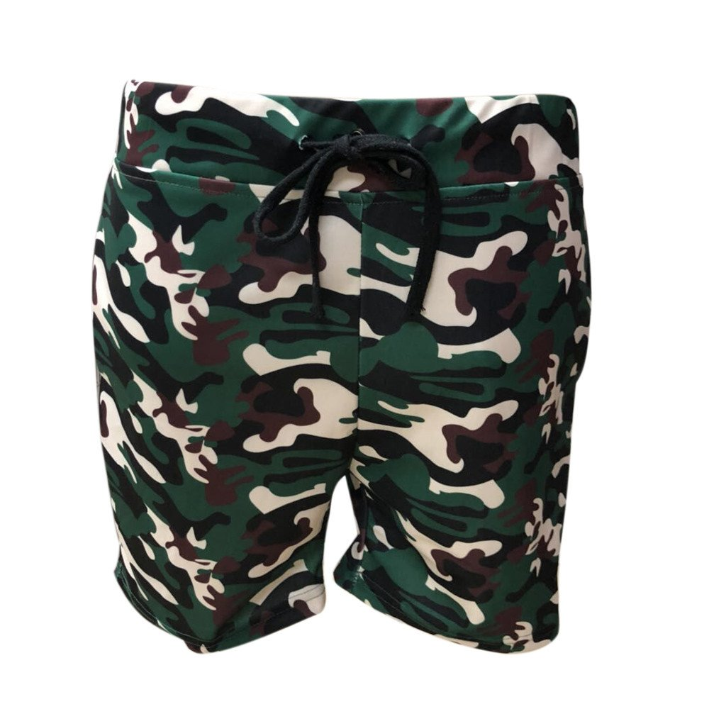 Topgrowth Costume Uomo Mare Pantaloncini Casual Ragazzo Elastico Pantaloni Mimetici Jogger Sportivi Pantaloncini da Spiaggia