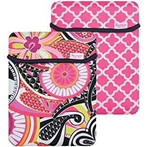 Macbeth Collection Reversible Sleeve for iPad/iPad 2 (Sloane Picadilly) (MB-IP2SP)