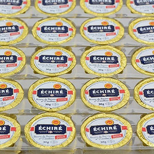 Echire Butter Refill, Unsalted - 100 X 1.1 Oz by Echire (Image #1)