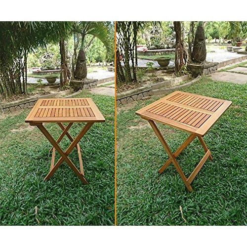 good SAM® Robuste salon de jardin, 3 pièces, en bois d\'acacia, 1 x ...