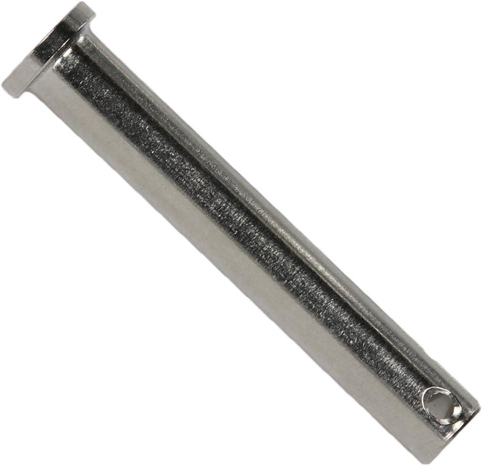 BOOTSTEILE BRAUER/® - Sicherungsbolzen//Splintbolzen//Bolzen 5 St/ück aus Edelstahl A4 Steckbolzen 12x30 mm -