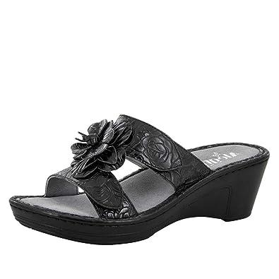 Alegria Womens Lana Wedge Sandal Cowgirl Tar Size 35 EU (5-5.5 M US